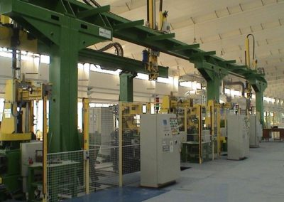 In-Line Casting System