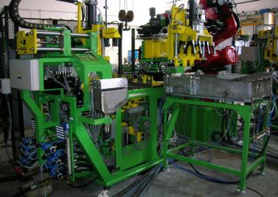 FM4 Piston Casting Machine