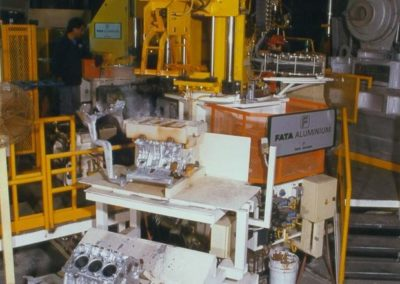 engine block production